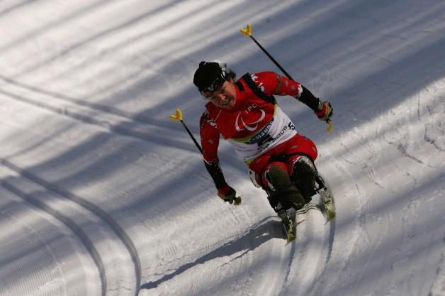 Les jeux d'hivers paralympics