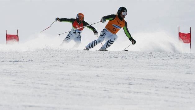 Sports d'hivers pour le handicap