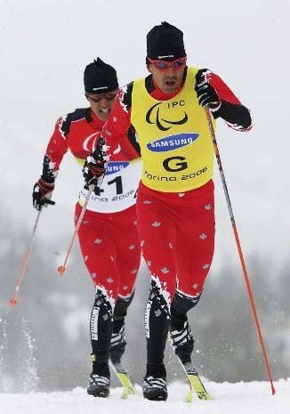 Ski de fond pour personnes handicapées